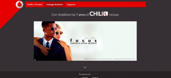 Chili TV   Vodafone Entertainment