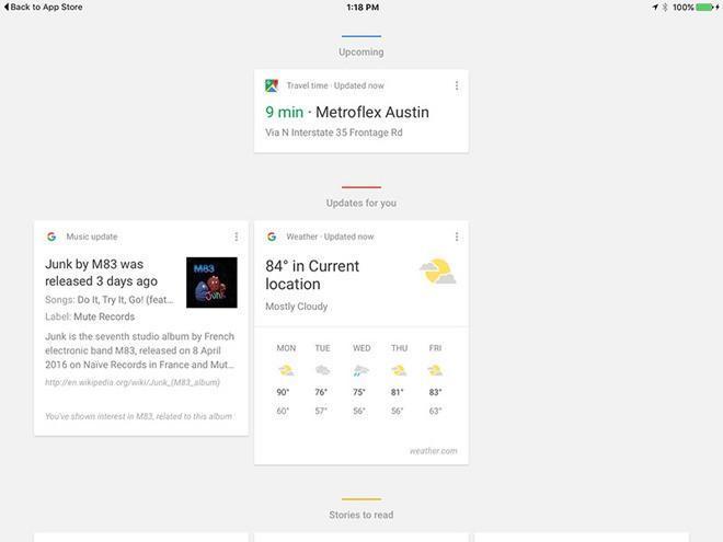 Google 14.0 per iPad