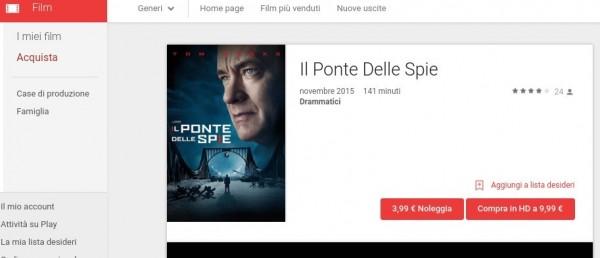 Il Ponte Delle Spie   Film su Google Play