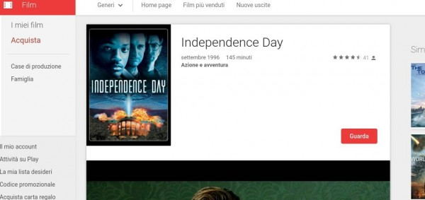 Independence Day   Film su Google Play