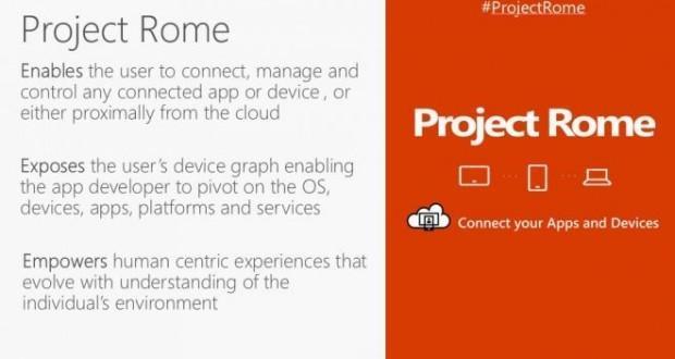 Microsoft Project Rome