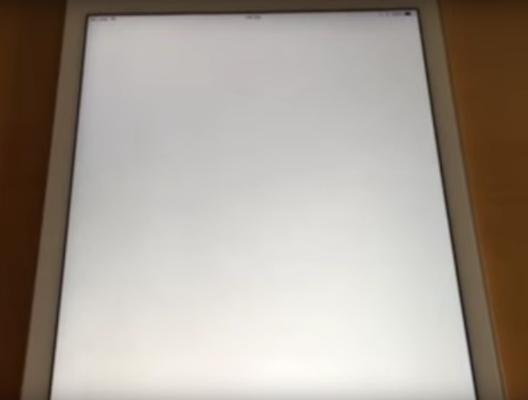 Schermata bianca della morte su iOS