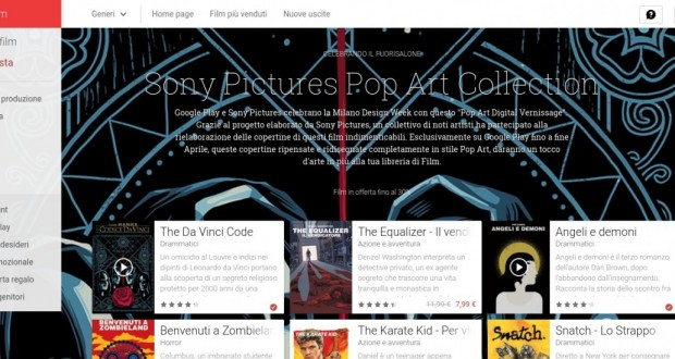 Sony Pictures Pop Art Collection   Film su Google Play