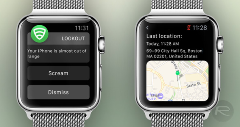 The-latest-GPS-coordinates-of-your-iPhone-can-be-displayed-on-your-Apple-Watch-on-right