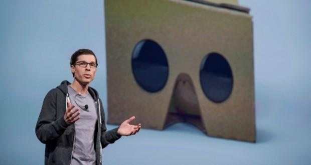 Google Cardboard VP Clay Bavor