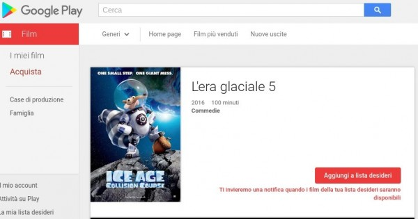 L era glaciale 5   Film su Google Play