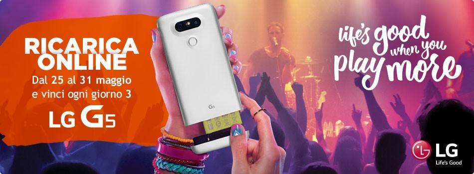 LG G5 in palio con Wind