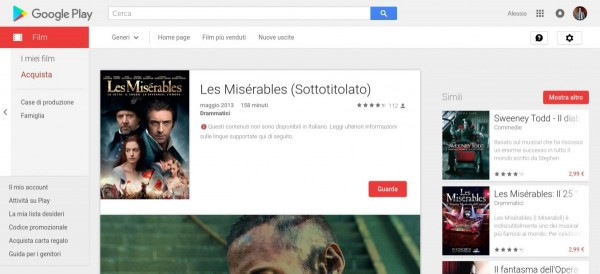 Les Misérables  Sottotitolato    Film su Google Play
