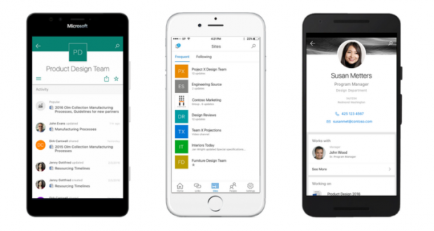 Microsoft SharePoint mobile