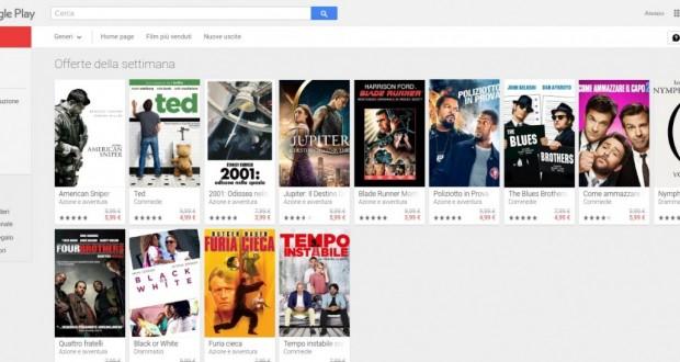 Offerte della settimana   Film su Google Play