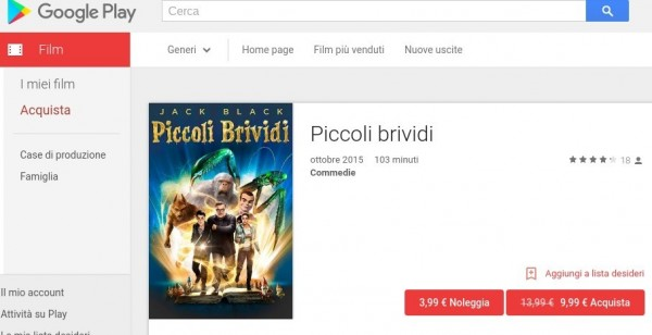 Piccoli brividi   Film su Google Play