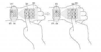 Samsung brevetto wearable