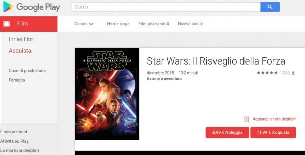 Star Wars  Il Risveglio della Forza   Film su Google Play