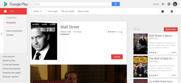 Wall Street   Film su Google Play