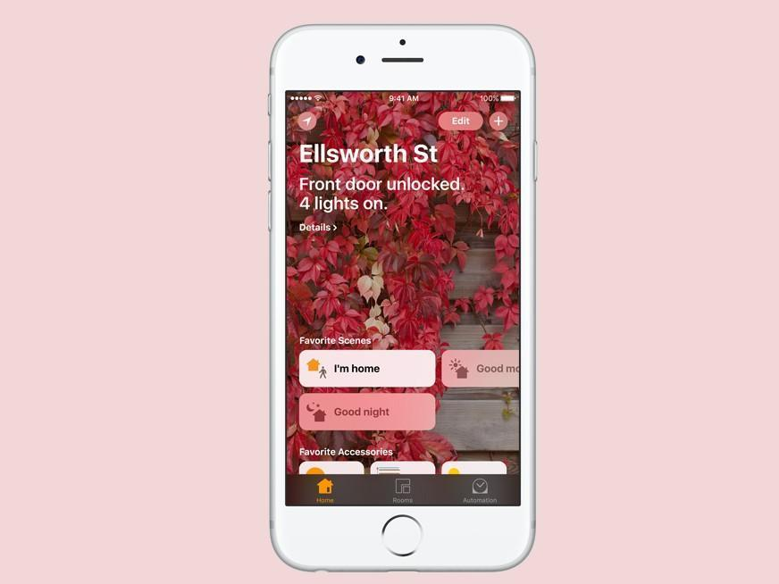 App Home Homekit iOS 10