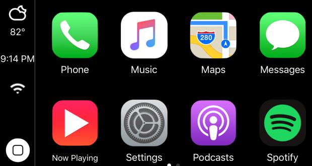 CarPlay iOS 2.0