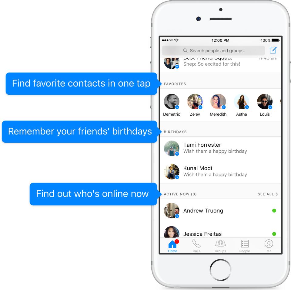 Facebook Messenger New Home Screen (1)