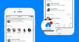 Facebook Messenger New Home Screen