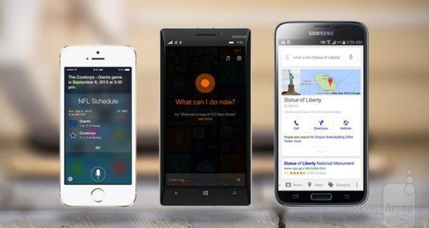 Google Now, Siri e Cortana