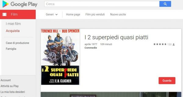 I 2 superpiedi quasi piatti   Film su Google Play