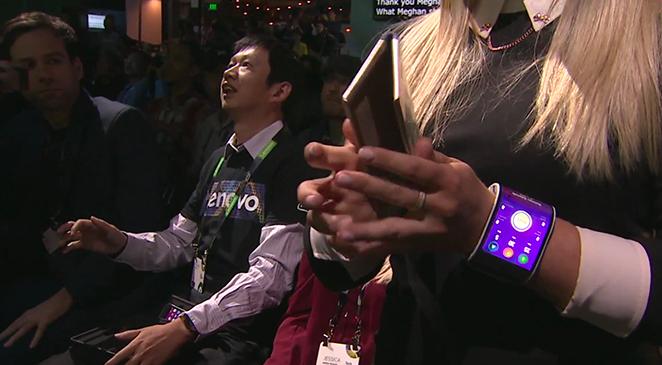 Lenovo smartphone flessibil
