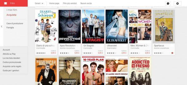 Offerte della settimana   Film su Google Play 2