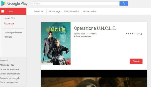 Operazione U.N.C.L.E.   Film su Google Play
