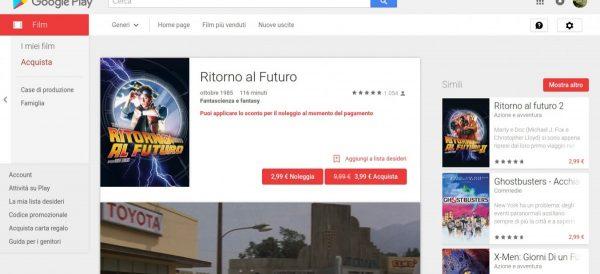 Ritorno al Futuro   Film su Google Play