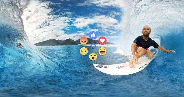 Samsung Gear VR ora compatibile con le reazioni nei video a 360° di Facebook