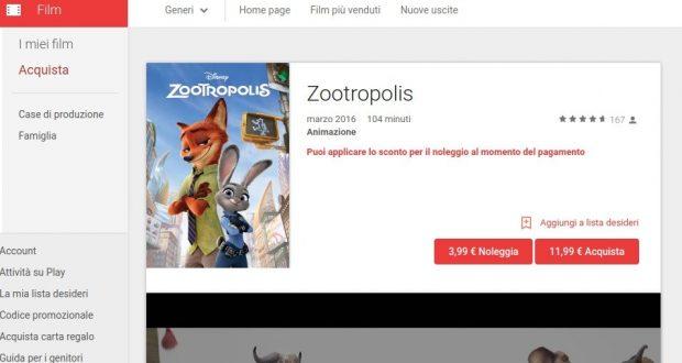 Zootropolis   Film su Google Play