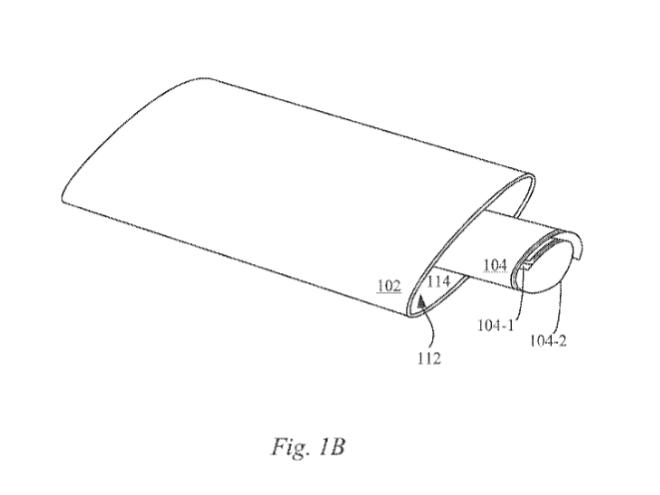smartphone flessibili brevetto Apple