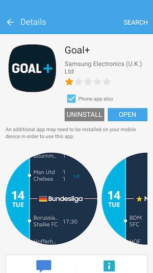 Goal+ Samsung Gear S2