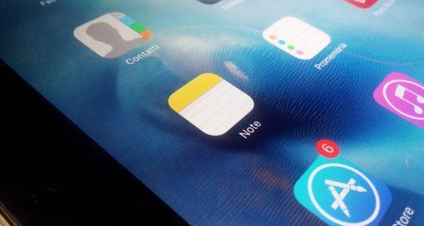 App Note iPad