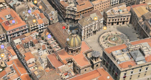 Palermo Flyover Apple Maps