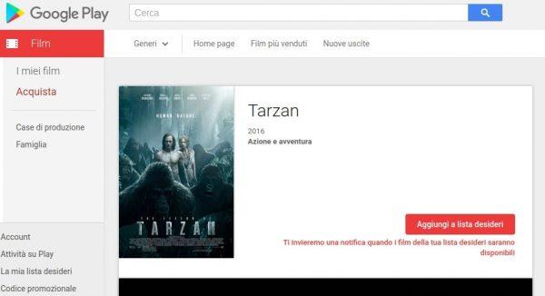 Tarzan   Film su Google Play