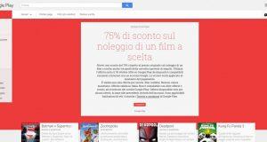 75  di sconto sul noleggio di un film a scelta   Film su Google Play
