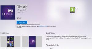 Filtastic – App di Windows in Microsoft Store