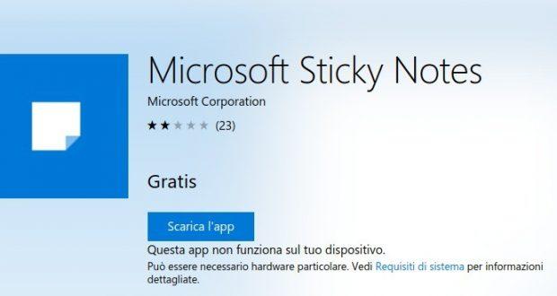 Microsoft Sticky Notes – App di Windows in Microsoft Store