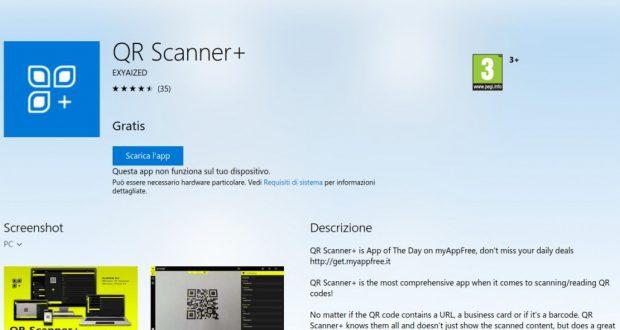 QR Scanner  – App di Windows in Microsoft Store