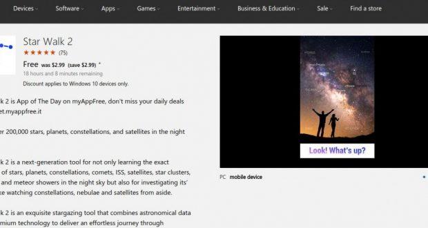 Star Walk 2 – Windows Apps on Microsoft Store