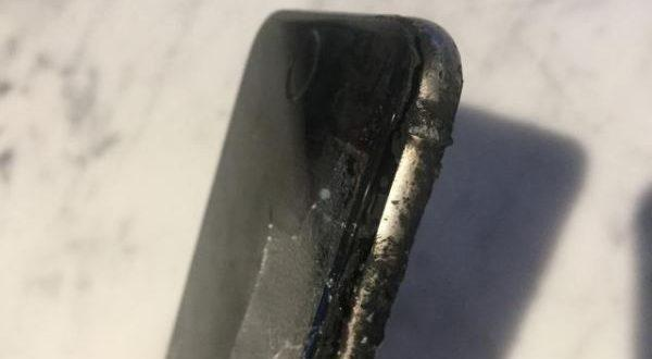 iPhone 6 in fiamme