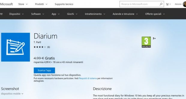Diarium – App di Windows in Microsoft Store