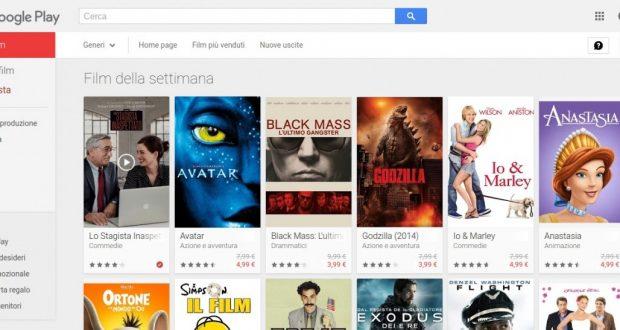 Film della settimana   Film su Google Play
