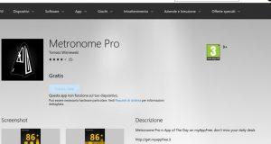 Metronome Pro – App di Windows in Microsoft Store