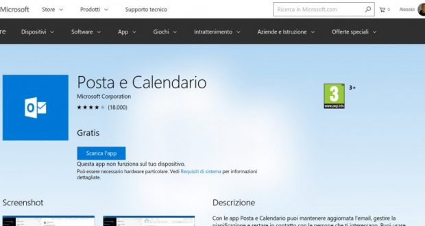 Posta e Calendario – App di Windows in Microsoft Store