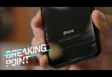 iPhone 7 Jet Black graffi