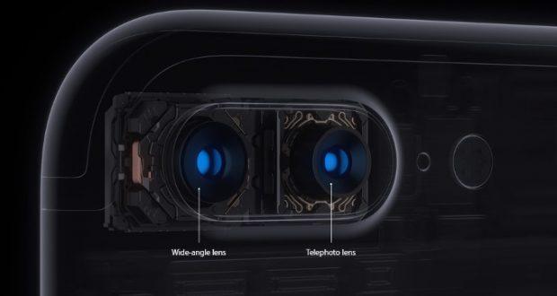 iPhone 7 Plus iOS 10.1 modalità Portrait