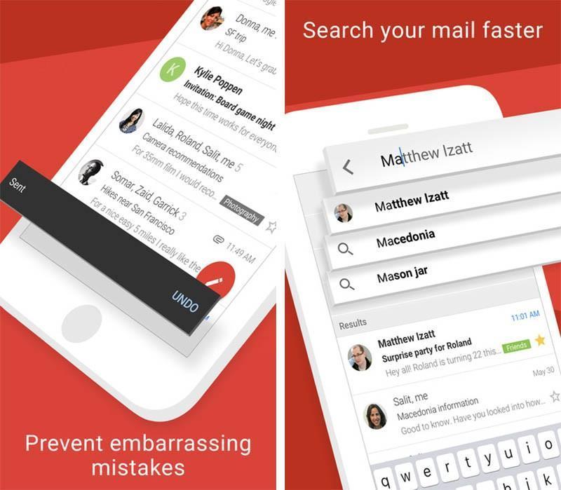 Gmail per iOS 5.0.3