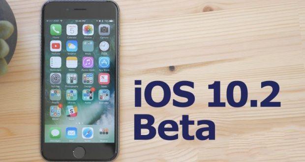 iOS 10.2 beta