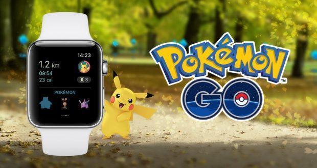 Apple Watch Pokémon GO